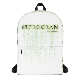U7 Reprogram Backpack - White