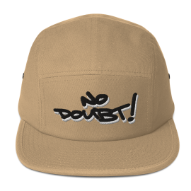U7 No Doubt! 5 Panel Cap