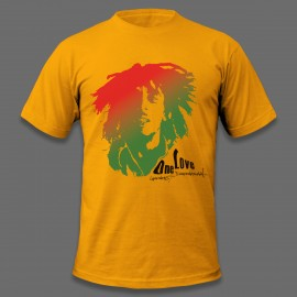 U7 SoulJah - One Love (Mens - Double Sided Design)