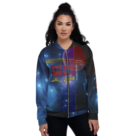 U7 High Astro Fabric Bomber Jacket