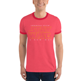 U7 Stay Wise Ringer T-Shirt (Unisex)